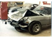 280 Z demise! - Totaled in 1982 I was hit by a early '70s Impala that spun me around 180 degrees! Lucky I didn't get hit in the door or I would not be here.