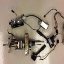 GTM modified C5 steering column
