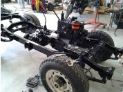 Engine professionally re-built with new parts