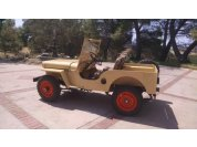 Finished! - Finished Jeep in 1947 colors. Yes, orange wheels were an original option in '47