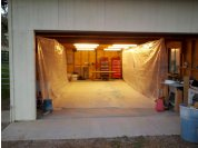 Paint booth - My redneck paint booth!