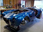 Body on - Body mated with the chassis for the final time.