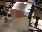 Sheet metal - It is also VERY helpful to use a sharpie to number ever seam and indicate which panel overlaps the other.