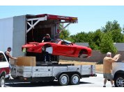Delivery - The Stewart truck can't get to my home workshop so I have them deliver to my business.