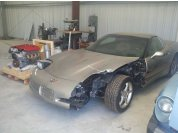 Donor car and engine - Engine came from a salvage 2006 Z06 with 24,000 miles.