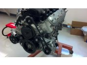 Engine Prep - After reading the threads on the Forum I chose the CTS-V alternator mount.