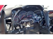 Fitting Instrument panel - HUD barely fits between panel and windshield but does work.