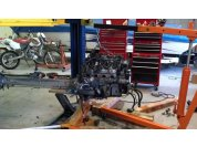 Powertrain disassembly