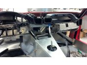 Air plenum - Constructing an air plenum to direct the air into the stock Vette ducting.