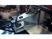 Custom sheet metal - Fabed up all new sheet metal to fit the modified chassis