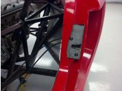 C6 door latches - Built frames and mounts for the C6 electric latches.