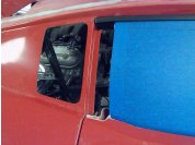 Window positioning - Window placed in full closed position to locate rear weatherstrip