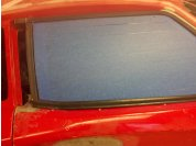 C5 window seals - Using the inside and outside door to window seals from the C5. With carefull trimming they work well. The C6 seals do not work.