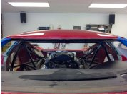 """Upper windshield visibility problem - Visibility is limited in a GTM. I'm 5' 11"""" tall and have an issue especially with the cars the have a large upper console. The upper windshield bar blocks about an inch of the upper windshield."""